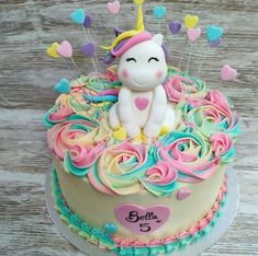 12 Awesome Unicorn Cake Ideas Unicorns are a popular party theme among children these days, especially young girls. They are attracted by the … Read Diy Unicorn Cake, Unicorn Cake Pops, Unicorn Rainbow Cake, Unicorn Themed Birthday Party, Birthday Cake Girls, Unicorn Birthday Cakes, Birthday Kids, Diy Cake, Girl Cakes