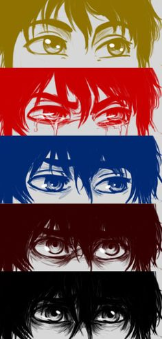 The eyes of Nico Di Angelo by Amigo12 on DeviantArt my poor brother