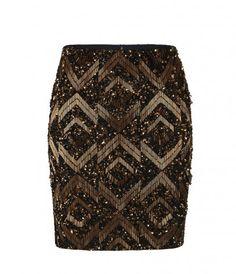 Panel High Waisted Mini Skirt, Women, Skirts, AllSaints Spitalfields