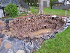 How To Build A Pond - Backyard Water Garden Backyard Water Feature, Ponds Backyard, Garden Ponds, Pond Kits, Living Pool, Garden Pond Design, Building A Pond, Diy Pond, Natural Pond
