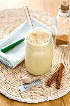 This Paleo Pumpkin Coconut Smoothie recipe is creamy sweet and delicious without dairy or added sugar. A perfect quick and healthy paleo breakfast smoothie that celebrates the fall flavors! AIP Dairy Free Gluten Free Paleo and Vegan. Paleo Smoothie Recipes, Healthy Smoothies, Paleo Recipes, Delicious Recipes, Whole 30 Smoothies, Healthy Food, Nutribullet Recipes, Budget Recipes, Paleo Food