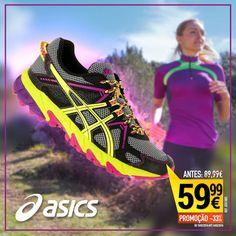 Calçado Trail Gel para mulher da ASICS