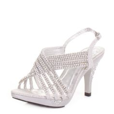 Wedding Prom Shoes - High Heels