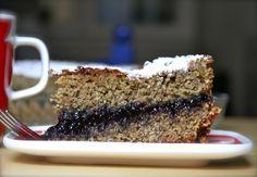 Buckwheat Pie w/ Blueberry Jam