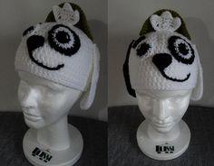 Gorro de Doki en crochet - Lussi Lu Crochet Bebe, Crochet Hats, Beanie, Beanies, Dress, Templates, Character, Crocheting, Tejidos