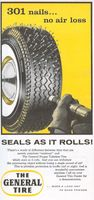 General Nygen Tubeless Tire 1956 Ad Picture