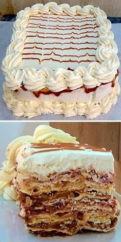 Torta Amor Spanish Desserts, Chilean Recipes, Sin Gluten, Vanilla Cake, Mousse, Brunch, Food And Drink, Cupcakes, Sweets