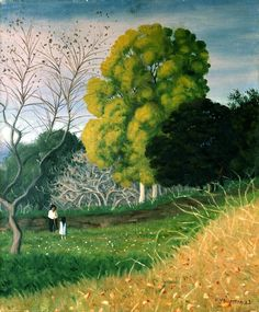 The Green Tree, Cagnes by Félix Vallotton (Swiss/French 1865–1925)