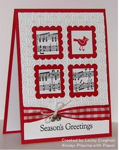Paper Players Music Theme Challenge by Lesley Croghan http://alwaysplayingwithpaper.blogspot.com/2011/10/paper-players-theme-challenge-music.html:
