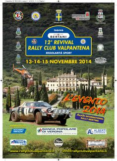 12° Revival Rally Club Valpantena 2014