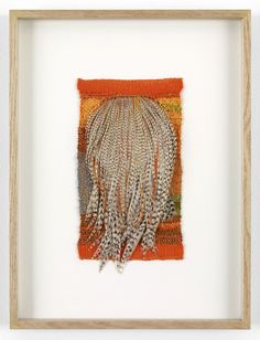 Sheila Hicks, Fetera II, 2001  Plumes and cotton  10 x 5.375 inches  courtesy Sikkema Jenkins & Co.