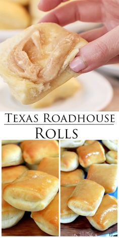 Weight Watchers Recipes Discover Copycat Texas Roadhouse Rolls This Copycat Texas Roadhouse Rolls recipe is easy to make and you can even use your bread machine! This is a perfect dinner side dish idea! Dinner Rolls Easy, Frozen Dinner Rolls, Sweet Dinner Rolls, Homemade Dinner Rolls, Homemade Breads, Texas Roadhouse Rolls, Copycat Recipes Texas Roadhouse, Copykat Recipes, Restaurant Recipes