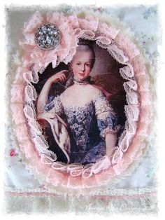 Marie Antoinette pretty way to frame an image