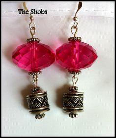 £7  Beautiful pink earrings Pink Earrings, Drop Earrings, Beautiful Earrings, Jewelry, Fashion, Moda, Jewlery, Jewerly, Fashion Styles