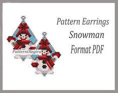 Peyote earrings Pattern Skulls for bead weaving , Beaded Pattern Skulls , beading Tutorial Earrings Skulls of weaving , Earrings beads Bead Embroidery Patterns, Seed Bead Patterns, Peyote Patterns, Weaving Patterns, Knitting Patterns, Art Patterns, Mosaic Patterns, Crochet Patterns, Beaded Earrings Patterns