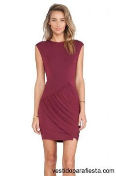 Vestidos cortos de fiesta color vino moda otoño 2014 | Vestidos Para Fiestas 2014 https://vestidoparafiesta.com/vestidos-cortos-de-fiesta-color-vino-moda-otono-2014/ #vestidos #moda #dress #fashion #partydress #falldress #style #fall