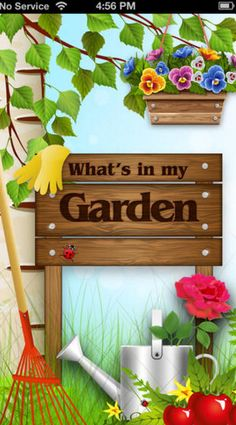 What's In My Garden?™ is here to help you to  •Know what you've got •Know where it is •Save time when you need to find something •Help save money by not buying what you already have •Inspire you to prune/propagate/fertilize/re-pot ! Click on the image to take you to the website for more info & ti download with iTunes....#gardening #organisation #gardeningapps #lovemygarden