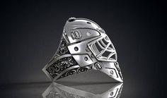 Check out this item in my Etsy shop https://www.etsy.com/ca/listing/528544384/sneak-peek-silver-hockey-goalie-helmet