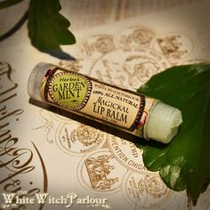 Herbal+GARDEN+MINT+Lip+Balm.+All+Natural.+to+improve+energy%2C+vitality%2C+communication%2C+healing%2C+prosperity+%26+money+drawing.+magical+ointment