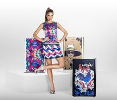 Colección mixtura Haceb by Custo Barcelona: Neveras con estilo, personalización y tendencia.