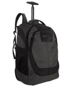 nike rolling backpack brown