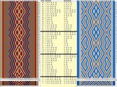 32 tarjetas, 4 / 3 colores, repite cada 12 movimientos // sed_452a diseñado en GTT༺❁