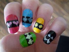 Shugo chara nails by cupcake58 on DeviantArt