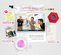 A science class at Edison Computech in Fresno, California developed the Sodium Sparkler, a Kleenex� Brand Xperiment that puts now thicker, more absorbent Kleenex� Brand Everyday Tissues to the test. Watch their Xperiment!