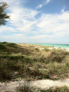 Beautiful beaches on Anna Maria, Florida