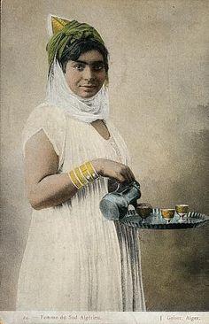 Africa: Berber girl, Algeria