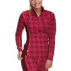 Kari Traa Rose Half-Zip Top (955 NOK) ❤ liked on Polyvore featuring activewear, activewear tops and kari traa