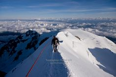 Descending off Mont Blanc Social Share Buttons, Yorkshire Dales, Pictures Of The Week, Mountaineering, Long Distance, Trekking, Wilderness, Mount Everest, Mountains