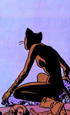 Catwoman by David Mazzucchelli for Frank Miller's Batman: Year One