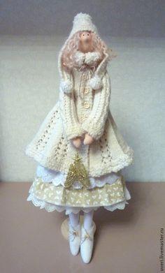 """Куклы Тильды ручной работы. Ярмарка Мастеров - ручная работа. Купить Кукла """"Снежана"""". Handmade. Кукла ручной работы, снегурочка"""