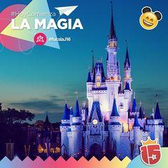#Hoy comienza la magia para el grupo #fucsiaJ16!  #Disney vamos por vos!   Vuelo: LA 502  Seguilo en: http://clyck.com.ar/LA502