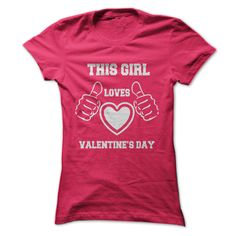 (Greatest Gross sales) This Girl Valentines Day T-Shirt - Order Now...