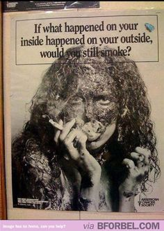 The Most Effective Anti-Smoking Ad Ever…