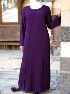 Durriya Abaya Save 39%  Lightweight and breezy, made from a rayon jersey, this simple abaya has the kind of flow you're looking for this season. Great for formal and informal occasions, get it in more than one color!