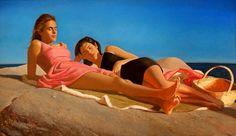 Bo Bartlett, 1955 ~ Realist Figurative painter