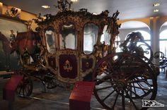 Carruagem de Maximiliano, exposta no Castillo de Chapultepec, na Cidade do México, capital do país