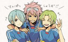 Kazemaru, Midorikawa, and Tsunami     ...they still look so very beautiful...  