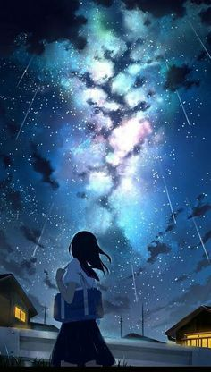 Art Discover Lock screen wallpaper anime girl 31 new ideas Art Anime Fille Anime Art Girl Anime Girls Anime Galaxy Galaxy Art Sky Anime Animes Wallpapers Cute Wallpapers Anime Backgrounds Wallpapers Anime Galaxy, Galaxy Art, Sky Anime, Manga Anime, Anime Scenery Wallpaper, Galaxy Wallpaper, Screen Wallpaper, Iphone Wallpaper, Wallpaper For Girls