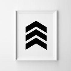 """Chevron Печати Искусство плакат вдохновляющие стены домашнего декора подарок графический геометрические черно белый Кадр афишу """"не включают купить на AliExpress"""