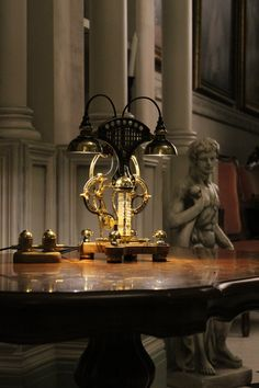 Power Wire, Steampunk Lamp, Work Lights, Lamp Bases, Finding Yourself, Chandelier, Table Lamp, Ceiling Lights, Lighting