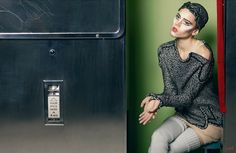 Chanel advertising campaign 2011 - Fotoautomat photobooth #photomaton