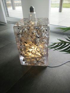 Lamp Resin Lampe Harz www NilsAdam de