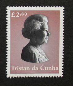 Queen Elizabeth II stamp, 2003, Tristan da Cunha, SG ref: 778, £2.80 stamp, MNH