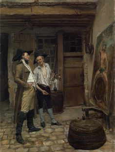 Meissonier, Ernest | The Sign Painter