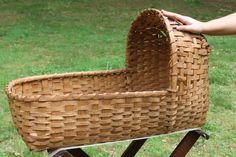 "Reminds me of the little ""moses basket"" we bought at the market in tegucigalpa when my first little son was born."
