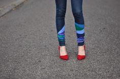 DIY Jeans Refashion : DIY Cool jeans